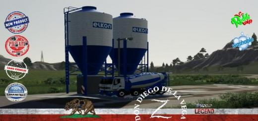 Photo of FS19 – Centrale De Vente Elkon V1.5