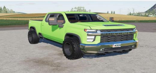 Photo of FS19 – Chevrolet Silverado 2500 Hd Crew Cab 2020