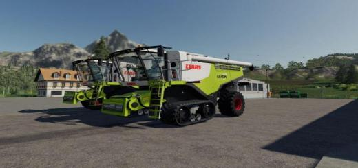 Photo of FS19 – Claas Lexion 750-780 Harvester V1