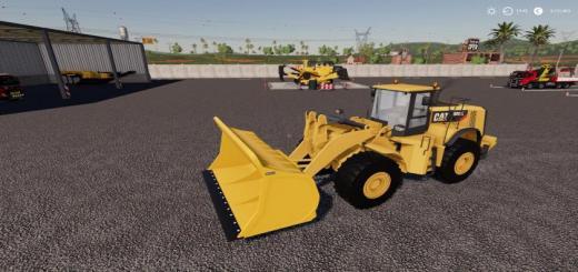 Photo of FS19 – Coal Shovel For Cat 980K Loader  V1.1
