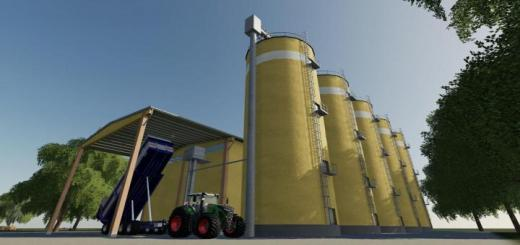 Photo of FS19 – Concrete Silos V1