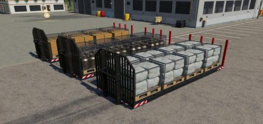 Photo of FS19 – Container Pallets V1.0.0.1
