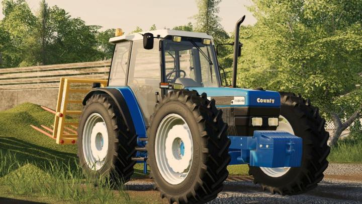 FS19 - County 1184-40 Tractor V1