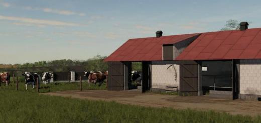 Photo of FS19 – Cows Barn Old V1.1