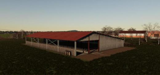 Photo of FS19 – Cows Barn Pack V1
