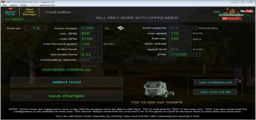 Photo of FS19 – Dashboard V3.1