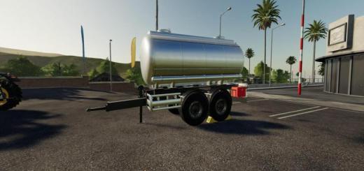 Photo of FS19 – Drawbar Tanker V1