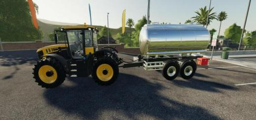 Photo of FS19 – Drawbar Tanker V2
