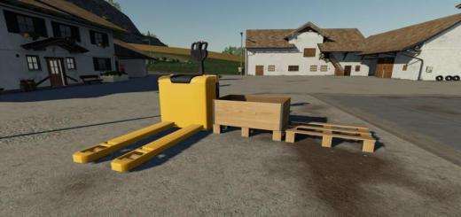 Photo of FS19 – Electric Pallet Truck V1
