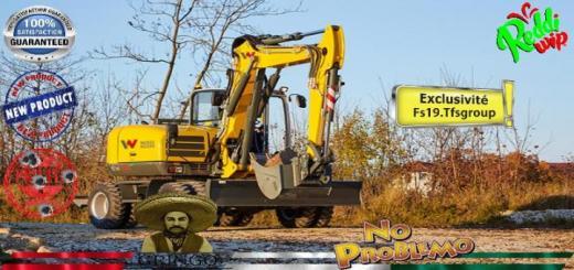 Photo of FS19 – Excavator Wacker Neusson V1.5