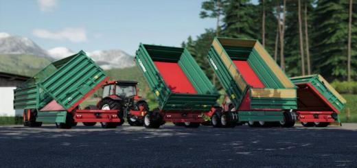 Photo of FS19 – Farmtech Edk500/Tdk900 Trailer V1