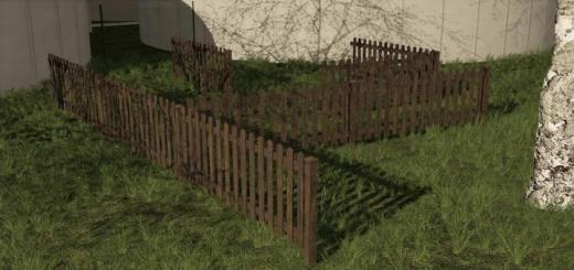Photo of FS19 – Fences Pack V1