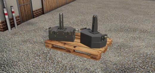 Photo of FS19 – Fendt Gewicht 870Kg V1