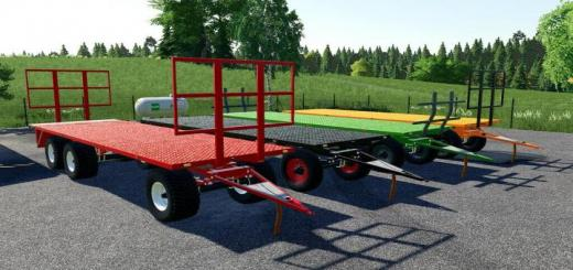 Photo of FS19 – Flatbed Trailer V1.1