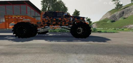 Photo of FS19 – Ford F-250 Monster Truck V1.6.1