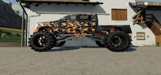 Photo of FS19 – Ford F-250 Monster Truck V1.7.2
