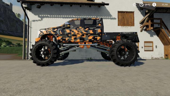 FS19 - Ford F-250 Monster Truck V1.7.2