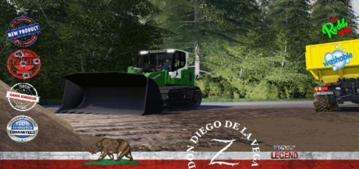 Photo of FS19 – Forestry Dozer Deere 834 V1.5