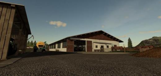 Photo of FS19 – German Cow Barn V1.3