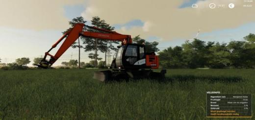Photo of FS19 – Hitachi Zaxis 145W V1
