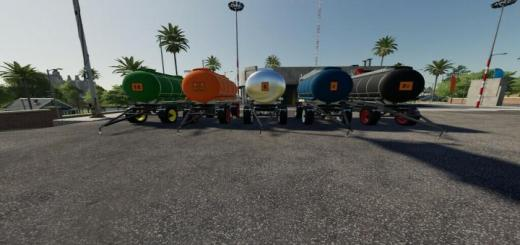 Photo of FS19 – Hs 10.5 Tank Trailers V1.5
