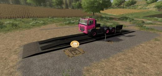 Photo of FS19 – Hydraulic Ramp With Repairshop V1