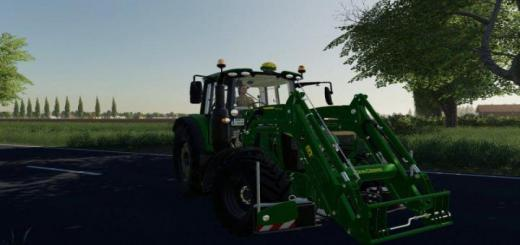 Photo of FS19 – John Deere 6M 2020 V1.1.1