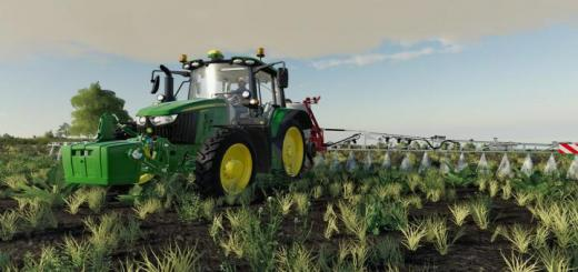 Photo of FS19 – John Deere 6M Series V1.0.0.1