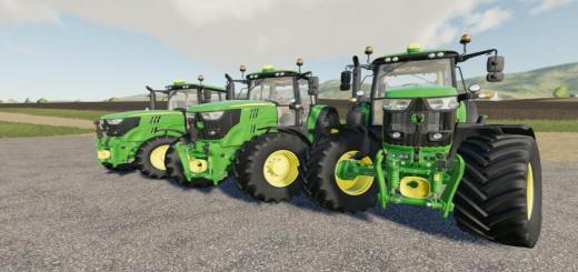 Photo of FS19 – John Deere 6M Series V2.0.1.0