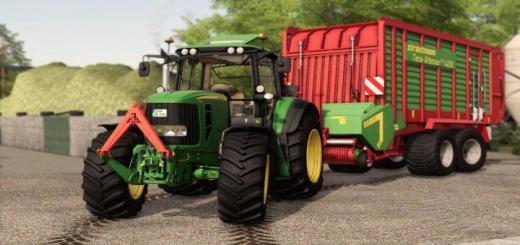 Photo of FS19 – John Deere 7430 7530 Tractor V1
