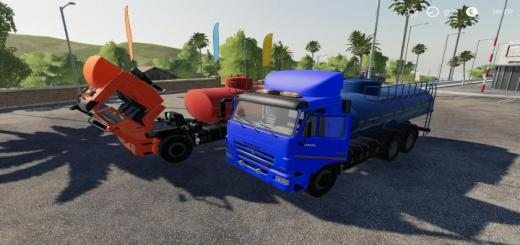 Photo of FS19 – Kamaz 65115 Fuel Truck V2