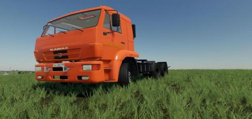 Photo of FS19 – Kamaz 65116 Truck V1.0.1.0
