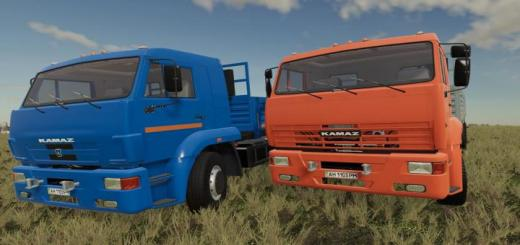 Photo of FS19 – Kamaz 65117 V1