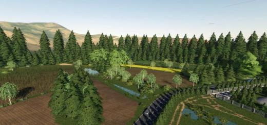 Photo of FS19 – Kijowiec Map V1