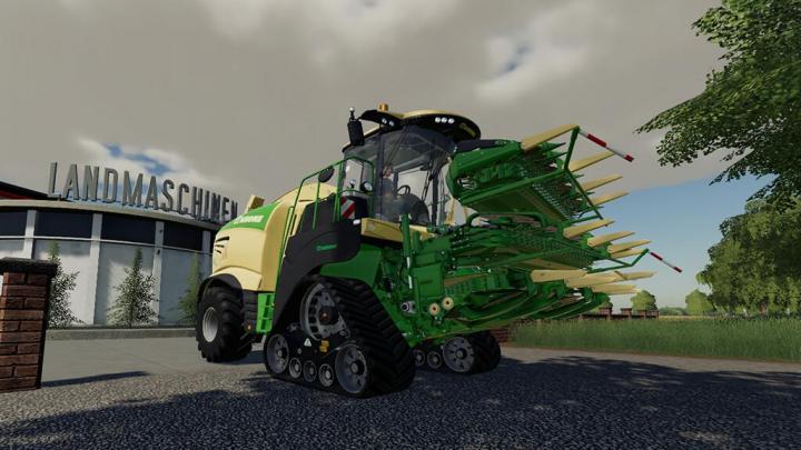 FS19 - Krone Big X 1180 V1