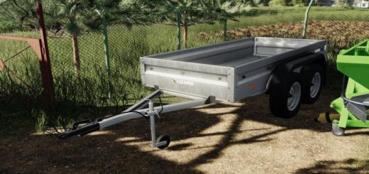 Photo of FS19 – Lizard Car Trailer Tandem V1