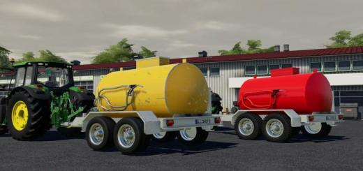Photo of FS19 – Lizard Fuel Trailer V1