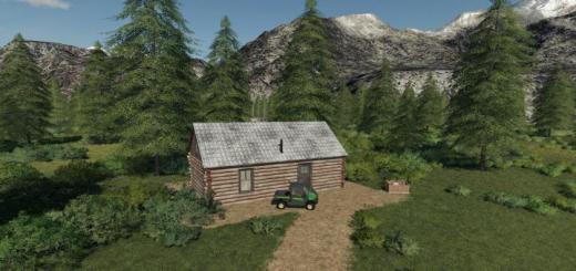 Photo of FS19 – Log Cabin (Farmhouse) V1