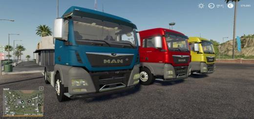 Photo of FS19 – Man Tgx Truck V1