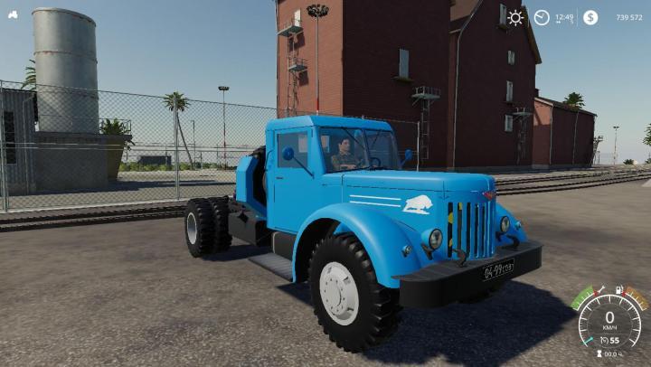 FS19 - Maz-200 Truck V1
