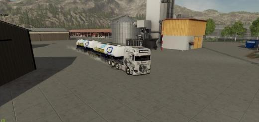 Photo of FS19 – Milk Trailer Semi Roadtrain V1.1