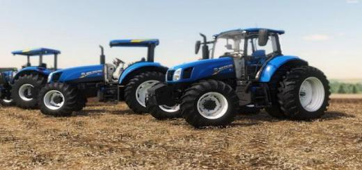 Photo of FS19 – New Holland T6 Br V1
