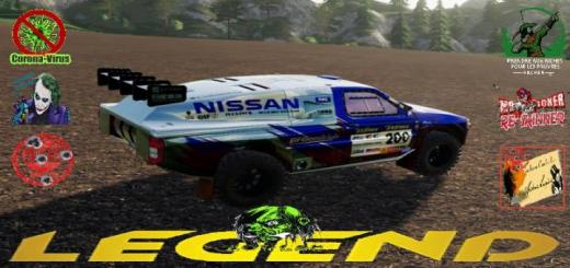 Photo of FS19 – Nissan Navara Dakar V1.5