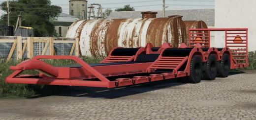 Photo of FS19 – Nmc 3-Axle Transport Trailer V1
