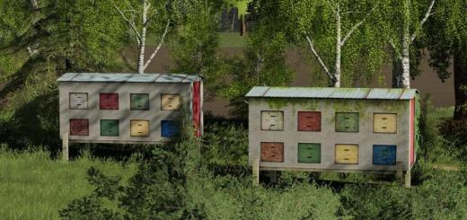 Photo of FS19 – Placeable Bee House V1