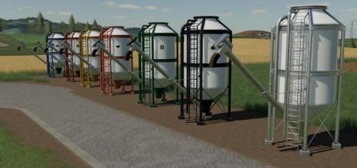 Photo of FS19 – Placeable Refill Silos V1