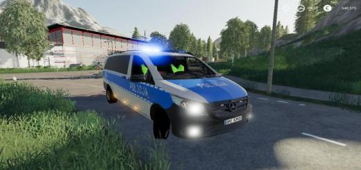 Photo of FS19 – Radiowoz Police V1