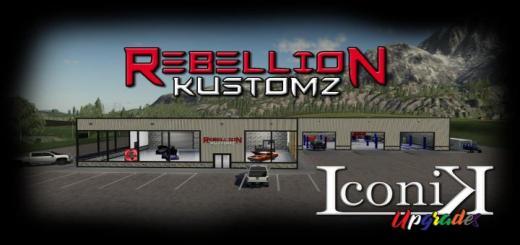 Photo of FS19 – Rebellion Kustomz V1