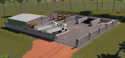 Photo of FS19 – Reloading Site Placeable V1