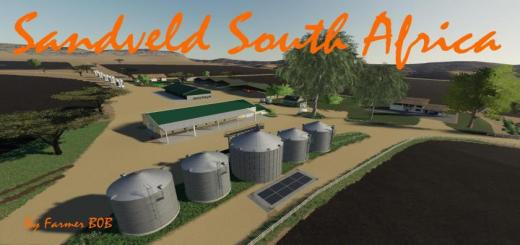 Photo of FS19 – Sandveld South Africa Map V002